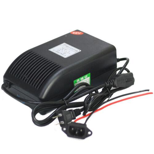 48v 5A Charger for Lithium Battery Pack Electric Bike 110v Input 58.8v Output