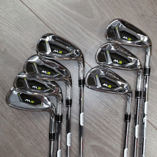 """USED"" TAYLORMADE M2 IRONS 4-PW REGULAR REAX 88 STEEL SHAFTS / LATEST 2017 MODEL"