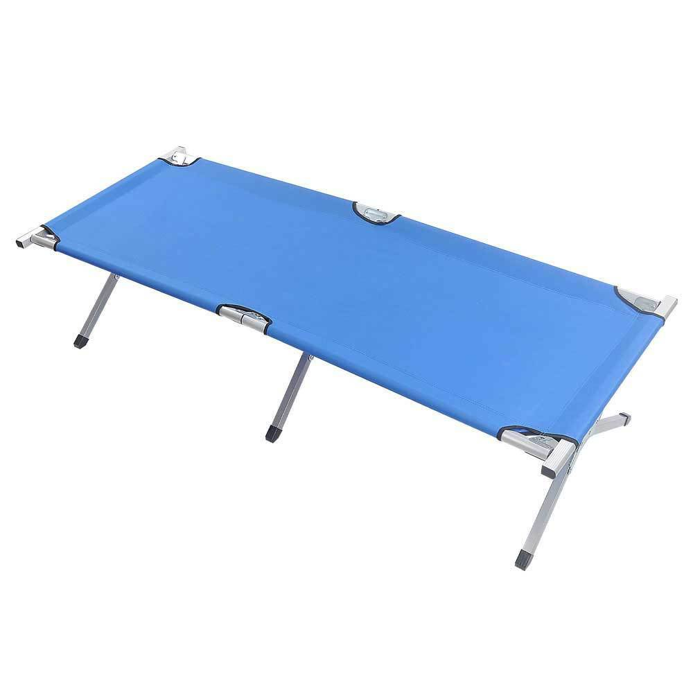 Outdoor Portable Military Folding  Camping Cot 600D XL Bed with Carry Bag Hiking  zero profit
