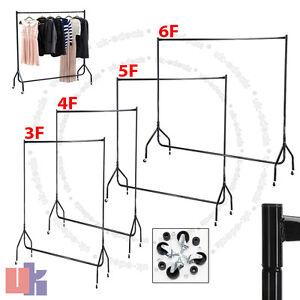 Clothe-Rail-3ft-4ft-5ft-6ft-Heavy-Duty-Garment-Hanging-Rack-Stand