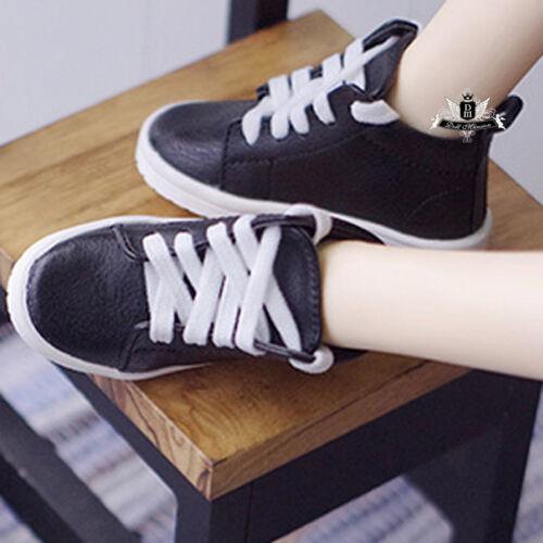1//4 BJD Shoes MSD Dollfie Black Sneaker sport shoes MID DOD AOD LUTS SOOM EID DZ