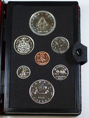 1975 Canada Double Dollar Prestige Set 7 Beautiful GEM Coins Original Case COA