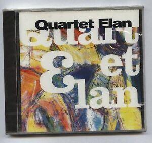 QUARTET-ELAN-Live-FRENCH-jazz-CD-SARAVAH-1997-Sealed