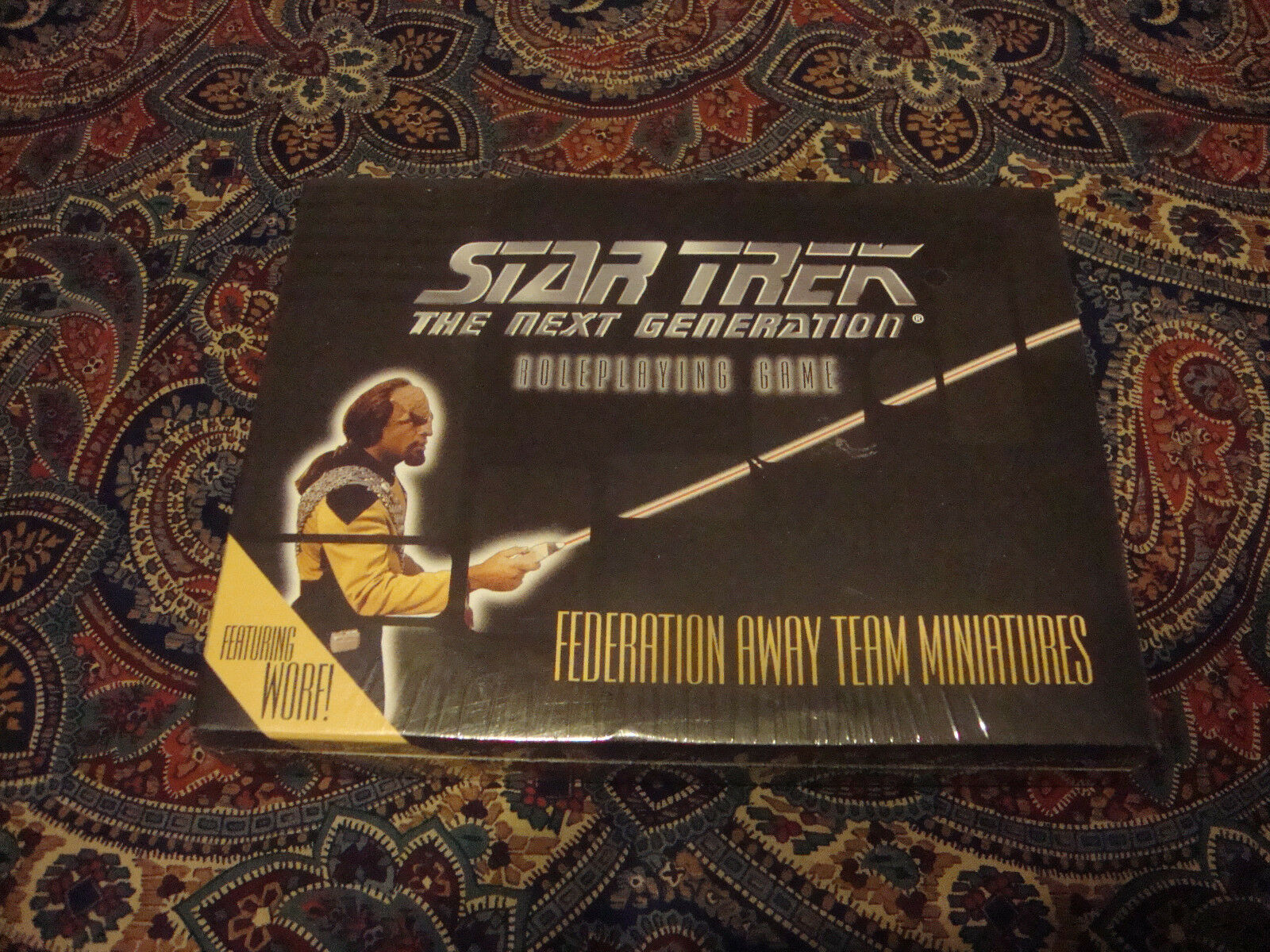 Star Trek The Next Generation GN Jeu Fédération Away Team miniatures