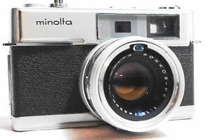 EXC-Minolta-Hi-Matic-7-Rangefinder-Camera-034-1963-034-Rokkor-PF-45mm-F1-8-Lens