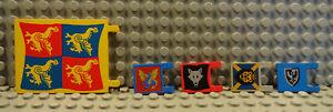 (b7/6) Lego Ritterburg Drapeau Drapeau 2525px5 2335px10 2335p4, Etc. D'occasion Kg-afficher Le Titre D'origine Fenkffxe-07183937-365721345