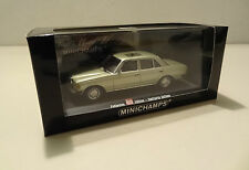 Mercedes-benz W 123 sedán 230 e Green met. auto imagen Edition Minichamps 1:43