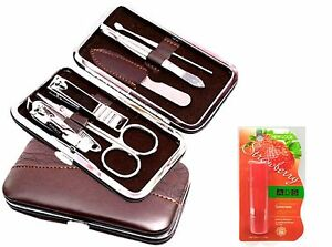 7 -IN-1 MANICURE SET + ADS STRAWBERRY FLAVOUR LIP CARE COMBO OFFER