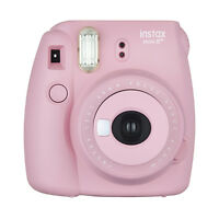 Fuji Instax Mini 8+ Fujifilm Instant Film Camera Strawberry on sale