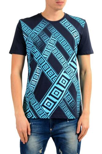 Versace Collection Men/'s Blue Graphic Print T-Shirt Sz S M L XL 2XL