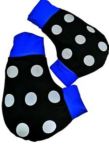Ruderhandschuhe-blau-schwarz-mit-Aufdruck-Rudern-Rowing-Poggies