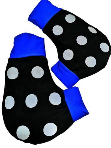 Rudern Rowing Ruderhandschuhe blau //schwarz mit Aufdruck Poggies