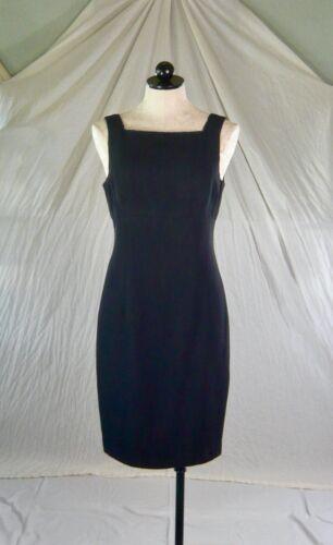NANETTE LEPORE vintage 80s 90s LITTLE BLACK DRESS