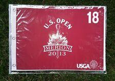 2013 US OPEN GOLF PIN FLAG MERION PGA NEW NEVER OPENED 18th HOLE USGA