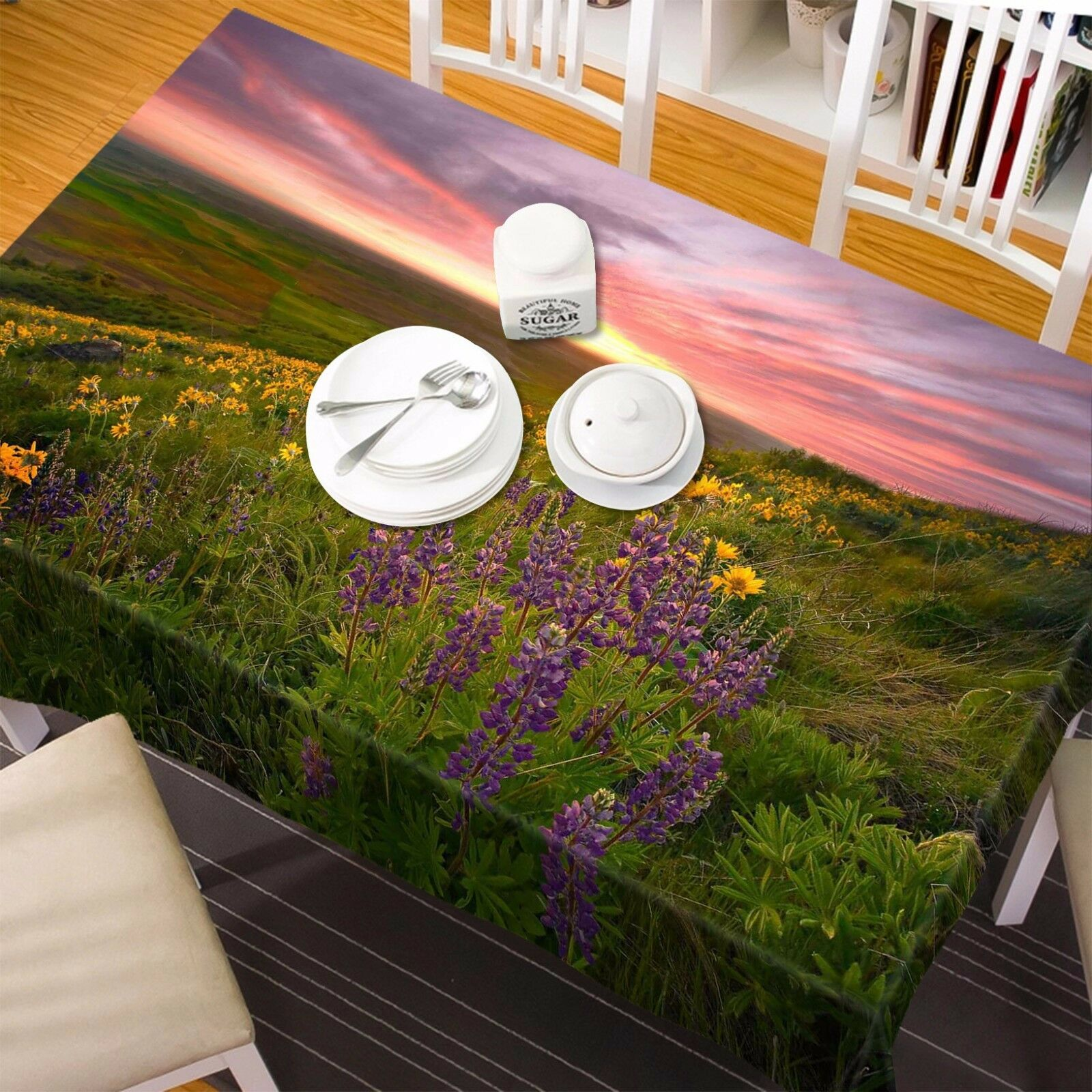 3D Field 771 Tablecloth Table Cover Cloth Birthday Party Event AJ WALLPAPER AU