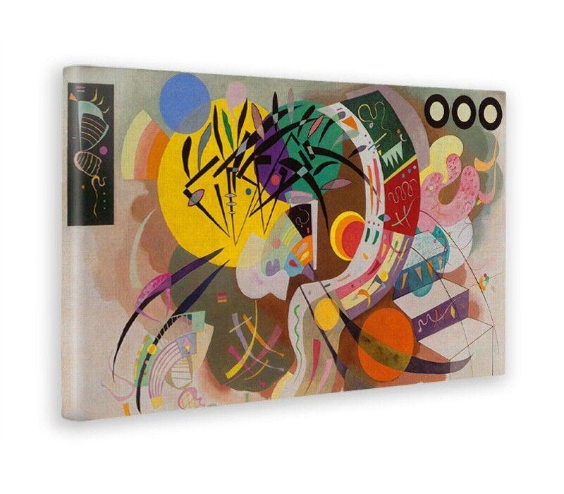 jaunebus - Quadro - Wassily Kandinsky -  Curva dominante