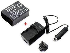 Cargador para DE-A79 Panasonic Lumix DMC-G5GH DMC-G6H DMC-G7H DMC-G70H Batería