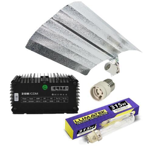 Lumatek 315w 3K CDM Grow Light Kit con 315w Elite Zavorra /& 3100k Lampadina