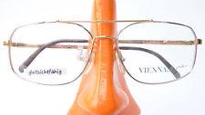 Luxusbrille Herren Fassung Bicolor Marke Viennaline Federbügel Metall size L