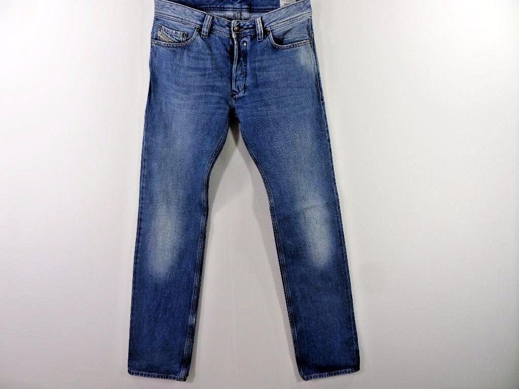 Diesel Safaddo Wash 008XZ Regular fit Mens Jeans Denim bluee w33 L36 Grade B M376