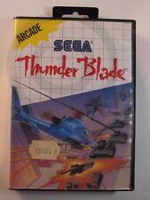!!! Sega Master juego Thunder Blade OVP, usados pero bien!!!