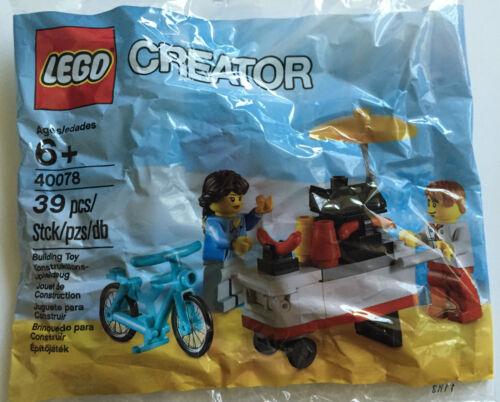 *NEW* Lego Creator HOT DOG STAND POLYBAG 40078