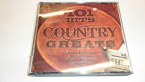 Cd    101 Hits Country Greats von Various Artists