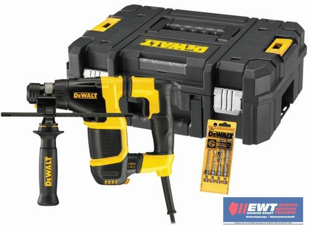 DeWALT D 25052 KT SDS-plus Bohrhammer in TSTAK BOX & 4 SDS-Bohrern D25052KT  AVC