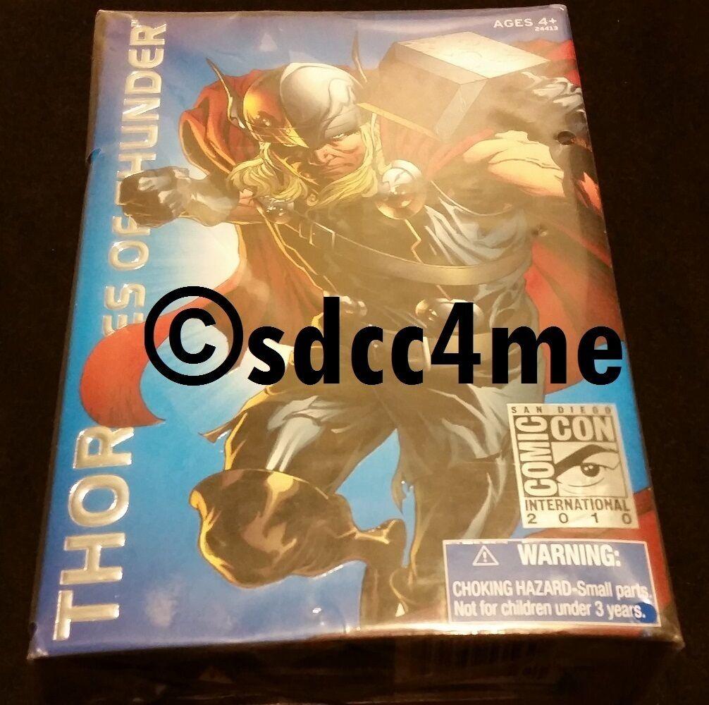 Sdcc comic - con - exklusive thor marvel - legenden alter donner abbildung avengers moc