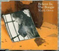 Mark Owen   CD-MAXI   BELIEVE IN THE BOOGIE   ( 5 TRACKS)