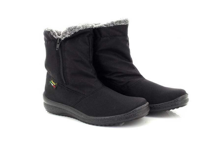 Inverno Mod Zip Calda Laterale Fodera Stivali Caviglia Blizzard PXZwOuTki