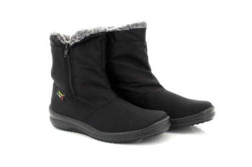 Ankle Side Comfys Mod Zip Warm Winter Boots Lined Blizzard 40xqznx