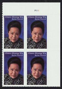 #5557 Chien-Shiung Wu, Placa Bloque [P1111 Ur ] Nuevo Cualquier 5=