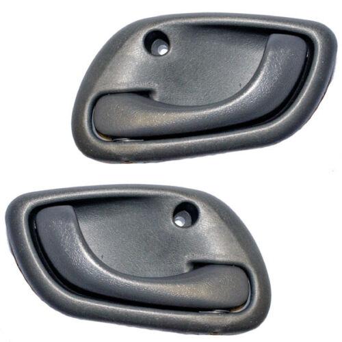 99-04 Tracker Front Rear Gray Grey Inside Inner Interior Door Handles Pair