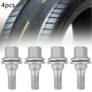 Nuevo-4x-Pernos-de-rueda-se-ajusta-Citroen-Peugeot-206-307-408-Tuercas-Tornillos-Pernos-Aleacion-UK