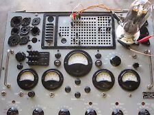 2 TUBE VT4C GENERAL ELECTRIC GE = RCA 211 NEUBERGER TEST 120mA (WHERE 25mA=100%)