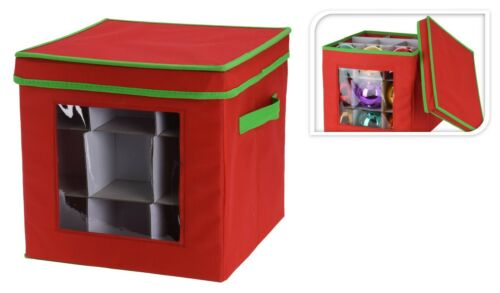 Aufbewahrungsbox für 27 Weihnachtskugeln Weihnachtsdeko Kiste Box Aufbewahrung