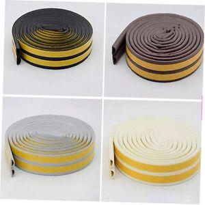 12m-Foam-Draught-Excluder-D-Type-Seal-Strip-Insulation-for-Door-Window-New-QK