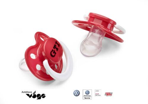 Original VW GTI Tétine//2er Set VOLKSWAGEN GTI à partir de 3ten mois 5gv084410 645