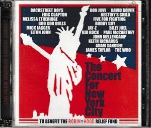 The-Concert-for-New-York-City-2-CD-Set-David-Bowie-Elton-John-Jay-Z