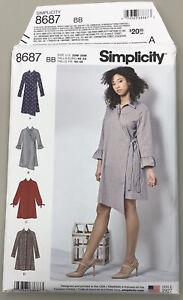 Simplicity 2189 Womens Dress Shirt Top Pants Sewing Pattern NEW UNCUT PICK SIZE
