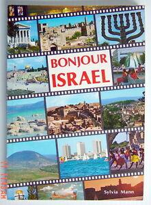 LIVRE-DE-1983-BONJOUR-ISRAEL-GUIDE-ABONDAMMENT-ILLUSTRE