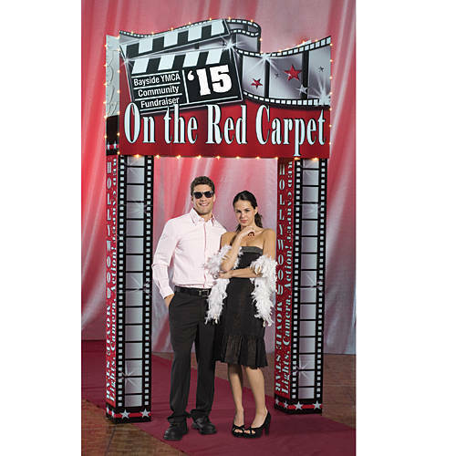 Hollywood Entrance Pizzazz, Movie Theme Standee Cardboard Cutout standee