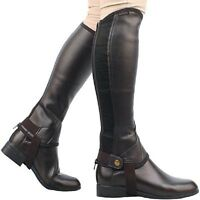 Easy-care Half Chaps - 2 Colors And Many Sizes Available