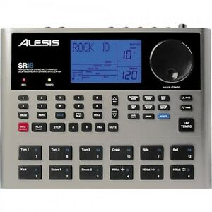 brand new alesis sr18 portable drum machine with effects 694318010570 ebay. Black Bedroom Furniture Sets. Home Design Ideas