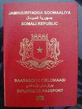 PERFECT RARE Diplomatenpass Somalia 2006 SPECIMEN diplomatic passport Somalia