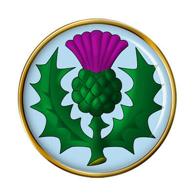 Scottish Thistle Pin Badge
