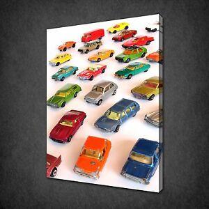 Afficher Titre Collection Accrocher Jouet Art D'origine Toile Wall Kids Détails À Sur Room Imprimé Photo Le Prêt Voitures XPZwiTOku