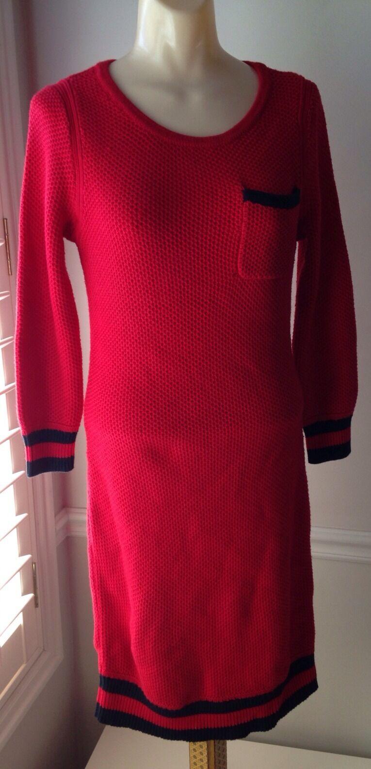 Vestido Vestido Vestido Jersey Rojo RAG & BONE-Tamaño Pequeño-Nuevo con etiquetas a85c87