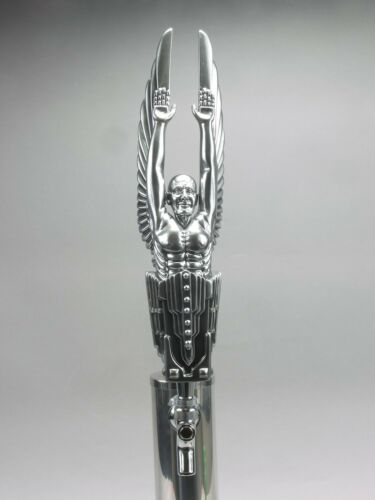 """THE PROTECTOR"" ART DECO BAR BEER TAP HANDLE DIRECT FROM RON LEE"